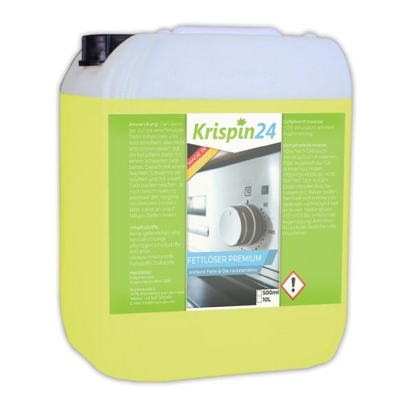 Fettlöser Premium 10L - Reinigung von Oberflächen / Fettablagerungen / Herden / Dunstabzugshaube