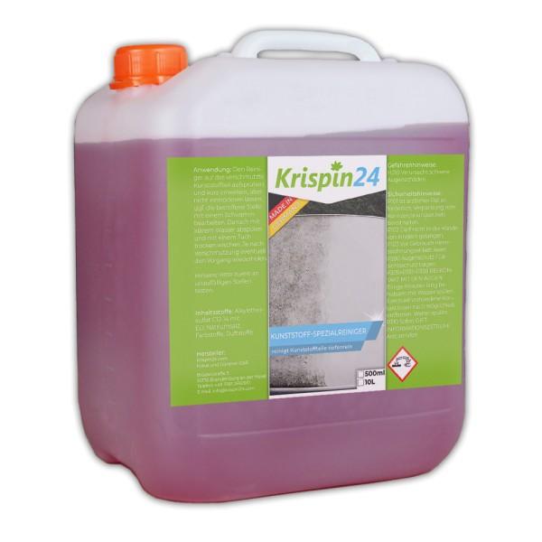 Kunststoff-Spezialreiniger 10L - entfernt selbst starke Verschmutzungen von allen Kunststoffen