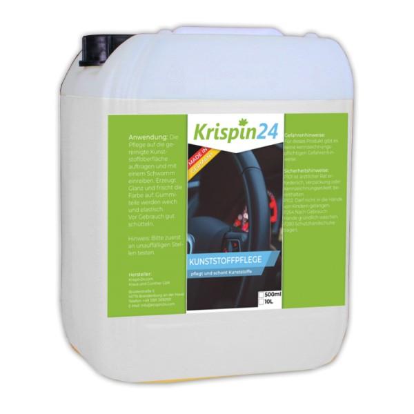 Kunststoffpflege 10L - frischt alle Arten von Kunststoffen und Gummiteilen auf und versiegelt sie